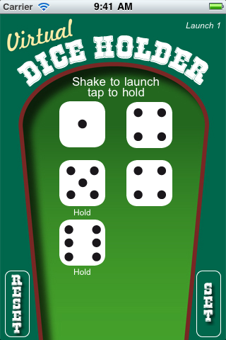 Screenshot Dice Holder