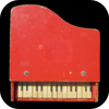 Vintage Toy Piano for iPad