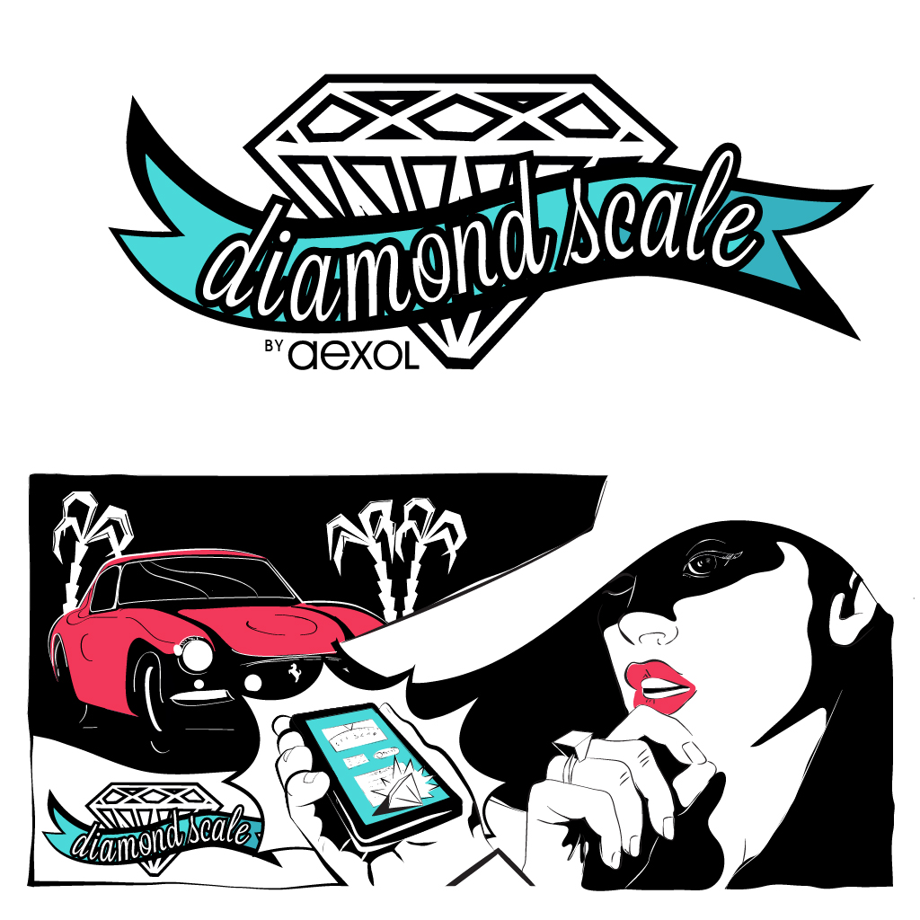 Diamond Scale app icon
