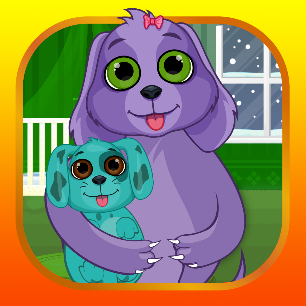A Dog Mommy And Newborn Baby Pet Care My Virtual Boo Puppy